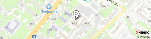 Ателье по пошиву и ремонту сценической обуви на карте Липецка