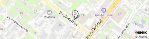 Продукты из Казахстана на карте Липецка