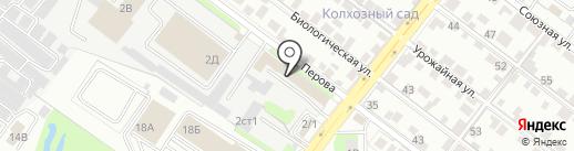 Липецкоблсельхозхимия на карте Липецка