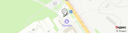 АЗС Лукойл на карте Липецка