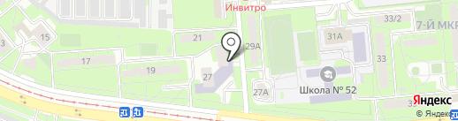 Центральная городская детская библиотека им. М.М. Пришвина на карте Липецка
