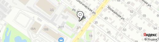 Черноземье на карте Липецка