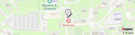 Офтальмологический центр доктора Тарасова на карте Липецка