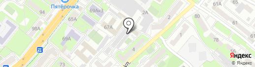 Чайнамобил-Липецк на карте Липецка