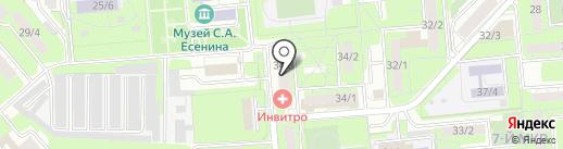 Драйв на карте Липецка