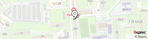 РемСтройМонтаж на карте Липецка