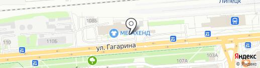 Raymond Hall на карте Липецка
