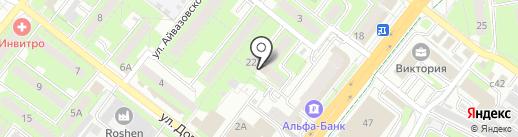 Липецкий государственный оркестр русских народных инструментов на карте Липецка