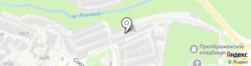 Балкон-сервис на карте Липецка