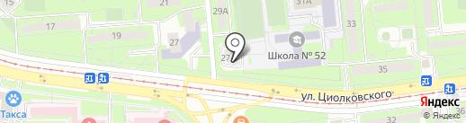 Р охранные системы на карте Липецка