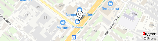 Гламурики на карте Липецка