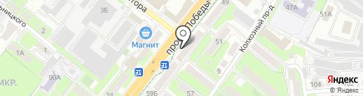 Мегафон на карте Липецка