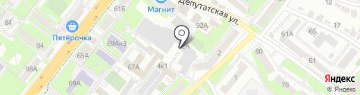 Торгово-производственная компания на карте Липецка