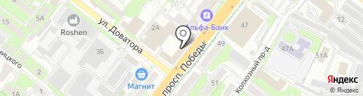 Елки-Палки на карте Липецка