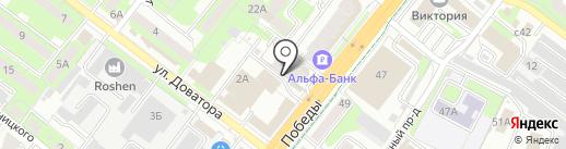 Glamour на карте Липецка