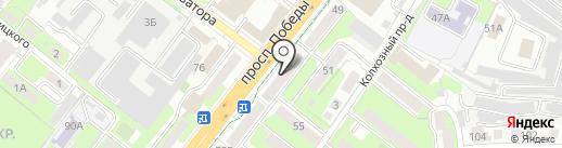 Банкомат, Лето Банк на карте Липецка