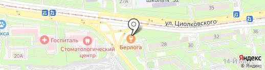 Мечта гурмана на карте Липецка