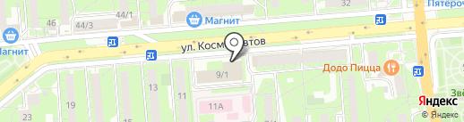 Следственный отдел по Октябрьскому округу г. Липецка на карте Липецка