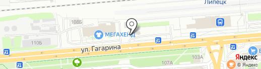 Автомойка24 на карте Липецка