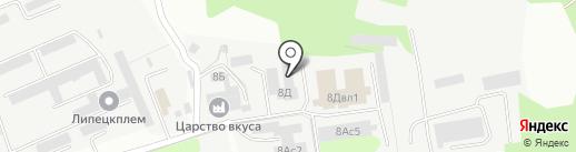 Мебельный цех на карте Липецка