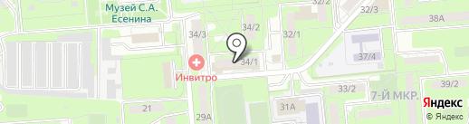 Фея на карте Липецка