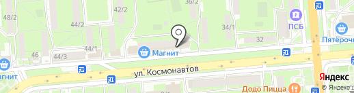 Навигатор на карте Липецка