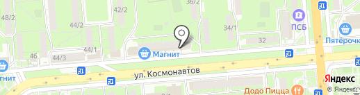 Почтовое отделение №43 на карте Липецка
