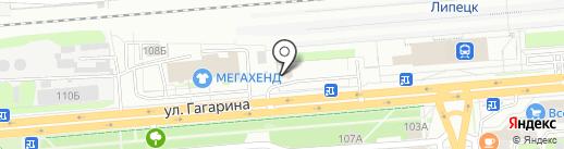 АвангардПлюс на карте Липецка