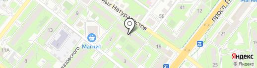 beGOODy на карте Липецка