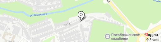 Оптовая компания по продаже кондитерских изделий на карте Липецка