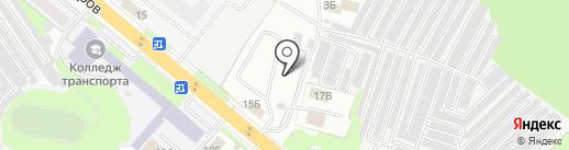 ЛюксоМебель на карте Липецка