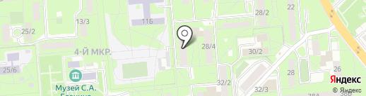 Русич на карте Липецка