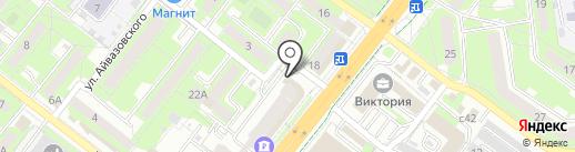 Липецкстрой, ЗАО на карте Липецка