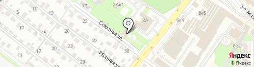 Государственный архив Липецкой области на карте Липецка