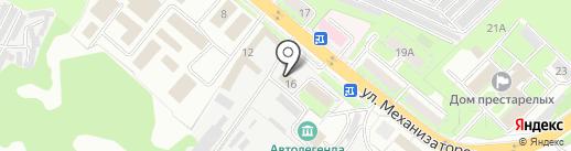 МРСК Центра, ПАО на карте Липецка