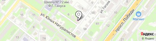 Липецкая городская станция по борьбе с болезнями животных на карте Липецка
