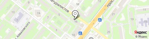 Professional на карте Липецка