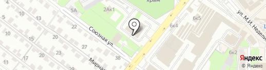 Главное управление МЧС России по Липецкой области на карте Липецка