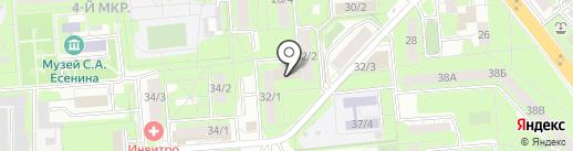 Центр технического творчества на карте Липецка