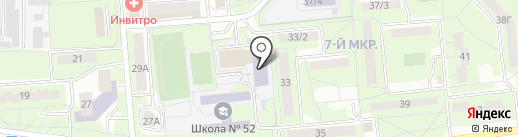 ДЮСШ №1 на карте Липецка