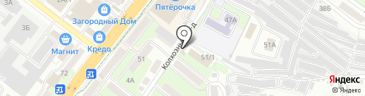 Данила Мастер на карте Липецка