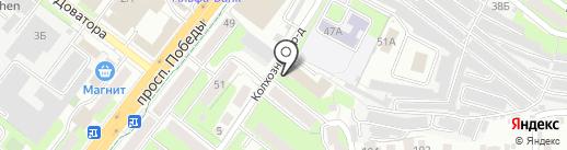 Pizza48.ru на карте Липецка