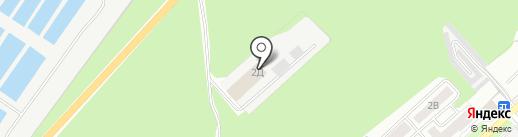 Пожарно-спасательная часть №6 на карте Липецка