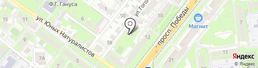 ФРЕЙЯ на карте Липецка