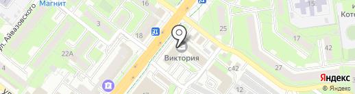 Магазин канцтоваров и товаров для детского творчества на проспекте Победы на карте Липецка
