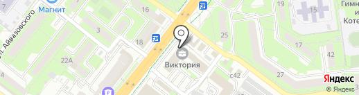 Косметологический кабинет на карте Липецка