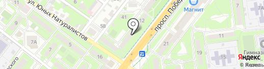 Город Мастеров на карте Липецка