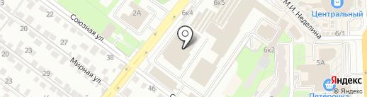 Тату-стиль на карте Липецка