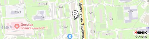 Pivnice на карте Липецка