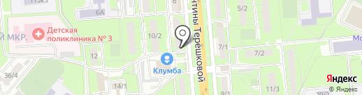 МаксиДент на карте Липецка